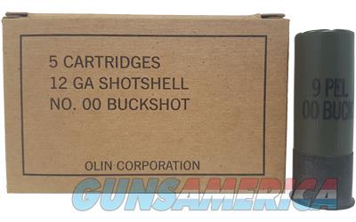 "WIN MIL GRADE 12GA 2.75"" 00BK 5/250  Non-Guns > Ammunition"