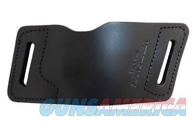 Versa Carry Quick Slide S2 Belt Slide Holster, Fits Most Single Stack Semi-Automatic Pistols, Ambidextrous, Black Leather, Tuckable IWB Metal Clips 41203  Non-Guns > Holsters and Gunleather > Other