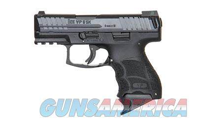 "HK VP9SK Semi-automatic, Striker Fired, 9MM, 3.39"" Barrel, Polymer Frame, Black Finish, 10Rd, 3 Magazines, Night Sights 700009KLE-A5  Guns > Pistols > Heckler & Koch Pistols > Polymer Frame"