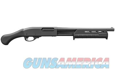 REM 870 TAC-14 20/14/4 BLK SHKWV GRP  Guns > Shotguns > Remington Shotguns  > Pump > Hunting