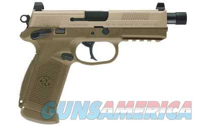 "FN America FNX-45 Tactical .45ACP 5.3"" Threaded Barrel 15rd Double/Single Action Night Sights FDE Finish 66968 - 3 Magazines - New in Box - FREE SHIPPING   Guns > Pistols > FNH - Fabrique Nationale (FN) Pistols > FNX"