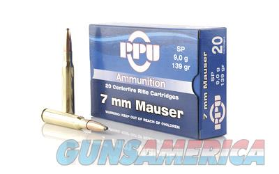 PPU 7MM MAUSER SP 139GR 20/500  Non-Guns > Ammunition