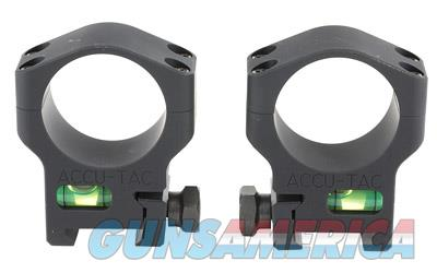 ACCU-TAC SCOPE RINGS 34MM BLK  Non-Guns > Scopes/Mounts/Rings & Optics > Mounts > Other