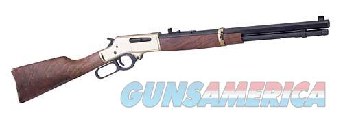 HENRY LEVER ACTION 30-30 BRASS OCT  Guns > Rifles > Henry Rifles - Replica