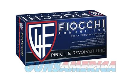 Fiocchi Ammunition Centerfire Pistol, 9MM, 124 Grain, Full Metal Jacket, 50 Round Box 9APB  Non-Guns > Ammunition