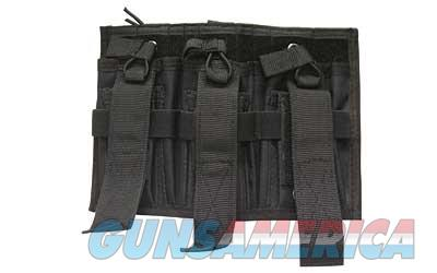 Bulldog Cases Tri-Double Molle Magazine Pouch, Colt Logo, Black CLT-62  Non-Guns > Holsters and Gunleather > Other