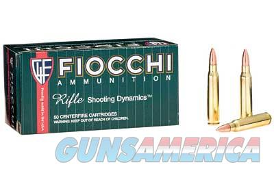 Fiocchi Ammunition Rifle  223 Remington  62 Grain  Full Metal Jacket  50 Round Box 223C - $9 Flat Rate Shipping on ANY Size Order  Non-Guns > Ammunition