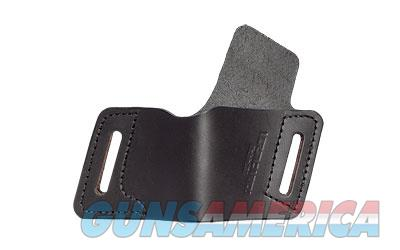 Versa Carry Protector Series Leather Belt Holster, Fits Most Single Stack Semi-Automatic Pistols, Right Hand, Black Leather OWBBK3  Non-Guns > Holsters and Gunleather > Other