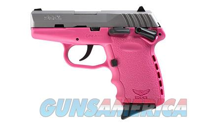 "SCCY CPX-1 9MM 10RD 3.1"" SATIN/PINK  Guns > Pistols > SCCY Pistols > CPX1"