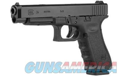 GLOCK 34 9MM PRACTICAL/TACT 10RD - Free Shipping - No CC Fee  Guns > Pistols > Glock Pistols > 34