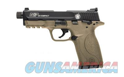 "Smith & Wesson M&P 22 Compact .22lr 3.6"" Barrel FDE Finish 10rd Threaded Barrel 10242 - New In Box  Guns > Pistols > Smith & Wesson Pistols - Autos > .22 Autos"