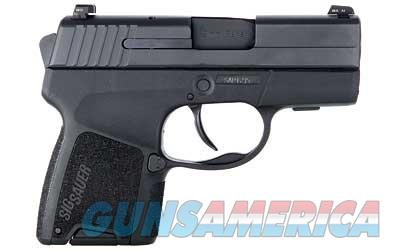"Sig Sauer P290, Re-Strike, Double Action Only, Compact, 9MM, 2.9"" Barrel, Polymer Frame, Black Finish, Fixed Night Sights, 6Rd and 8Rd, 2 Magazines 290RS-9-BSS  Guns > Pistols > Sig - Sauer/Sigarms Pistols > P290"