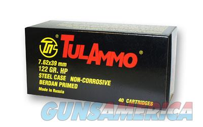 TulAmmo USA Steel Case, 762X39, 122 Grain, Hollow Point, 40 Round Box UL076212  Non-Guns > Ammunition