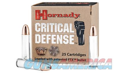 Hornady Critical Defense, 30 Carbine, 110 Grain, Flex Tip, 25 Round Box 81030  Non-Guns > Ammunition