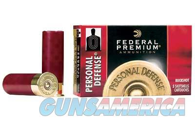 "FED PD 12GA 2.75"" 4BCK 34 PLT 5/250  Non-Guns > Ammunition"