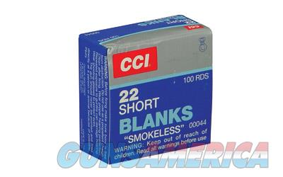 CCI 22 SHORT BLANK 100/5000  Non-Guns > Ammunition