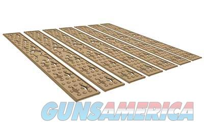 Knights Armament Company 7 Piece Flat Panel Kit, Fits KeyMod Rail, Flat Dark Earth Finish 31190-FDE  Non-Guns > Gun Parts > Misc > Rifles