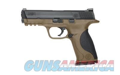 "Smith & Wesson M&P 9mm 4.25"" Barrel 17rd FDE Finish 10188 - 2 Magazines - New In Box  Guns > Pistols > Smith & Wesson Pistols - Autos > Polymer Frame"