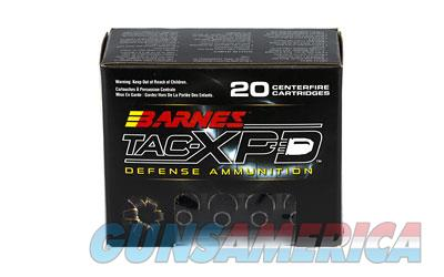 Barnes TAC-XPD  9MM+P  115 Grain  TAC-XP  Hollow Point  Lead Free  20 Round Box 21551 - $9 Flat Rate Shipping on ANY Size Order  Non-Guns > Ammunition