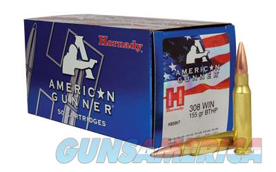 HRNDY AG 308WIN 155GR BTHP 50/500  Non-Guns > Ammunition