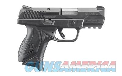 "RUGER AMERICAN 9MM 3.55"" 17RD BLK  Guns > Pistols > Ruger Semi-Auto Pistols > P-Series"