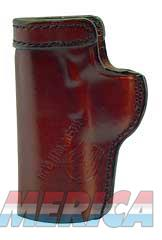 "Don Hume H715M Clip-On Holster, Inside The Pant, Fits Colt Officer With 3.5"" Barrel, Right Hand, Brown Leather J168022R  Non-Guns > Holsters and Gunleather > Other"
