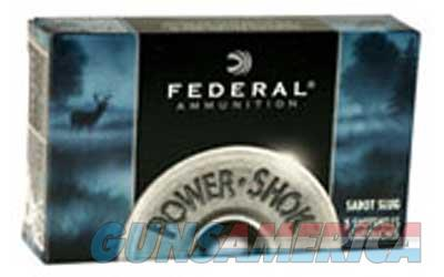 "Federal PowerShok, 12 Gauge, 2.75"", Max Dram, 1oz, Sabot Slug, Hollow Point,5 Round Box F127SS2  Non-Guns > Ammunition"