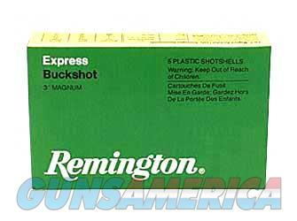 "Remington Express, 12 Gauge, 2.75"", 00 Buck, 3 Dr Buckshot, 9 Pellets, 5 Round Box 20282  Non-Guns > Ammunition"