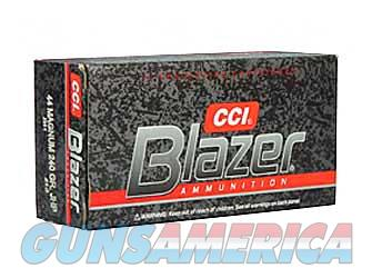 CCI/Speer Blazer  44MAG  240 Grain  Jacketed Hollow Point  50 Round Box 3564 - $9 Flat Rate Shipping on ANY Size Order  Non-Guns > Ammunition
