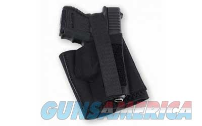 Galco Cop Ankle Band Ankle Holster, Fits Semi Auto Pistols and Double Action Revolvers, Right Hand, Black CAB2L  Non-Guns > Holsters and Gunleather > Other
