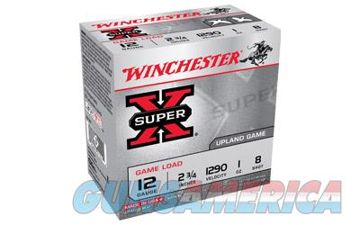 "Winchester Super-X, 12 Gauge, 2.75"", #8, 3.25 Dram, 1.125 oz., Shotshell, 25 Round Box XU128  Non-Guns > Ammunition"