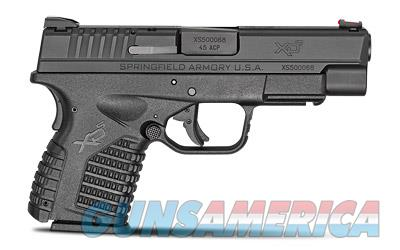 "Springfield XDS, 45 ACP, 4"" Barrel, Polymer Frame, Black Finish, Fiber Optic Front Sight, 6Rd, 2 Magazines XDS94045BE  Guns > Pistols > Springfield Armory Pistols > XD-S"