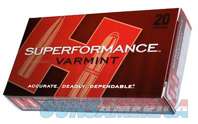 Hornady Superformance, 22-250, 50 Grain, V-Max, 20 Round Box 83366  Non-Guns > Ammunition