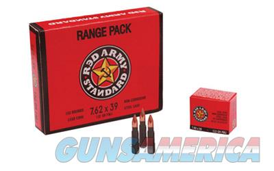 Century Arms 7.62X39 122gr Steel Cased Red Army Standard Ammunition 20 Round Box - $9 FLAT Shipping Rate ANY Size Order  AM2031B  Non-Guns > Ammunition