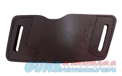 Versa Carry Quick Slide S2 Belt Slide Holster, Fits Most Double Stacked Semi-Automatic Pistols, Ambidextrous, Distressed Brown Water Buffalo Leather, Tuckable IWB Metal Clips 42201  Non-Guns > Holsters and Gunleather > Other