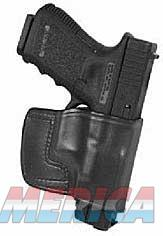 Don Hume JIT Slide Holster, Fits S&W M&P, Right Hand, Black Leather J966615R  Non-Guns > Holsters and Gunleather > Other