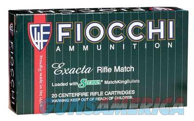 Fiocchi Ammunition Rifle  308WIN  175 Grain  Hollow Point Boat Tail Match King  20 Round Box 308MKD - $9 Flat Rate Shipping On ANY Size Order  Non-Guns > Ammunition