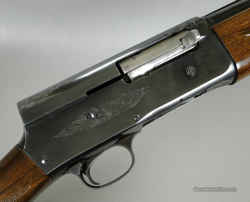 belgian browning a5 magnum 12 gauge shotgun wit for sale
