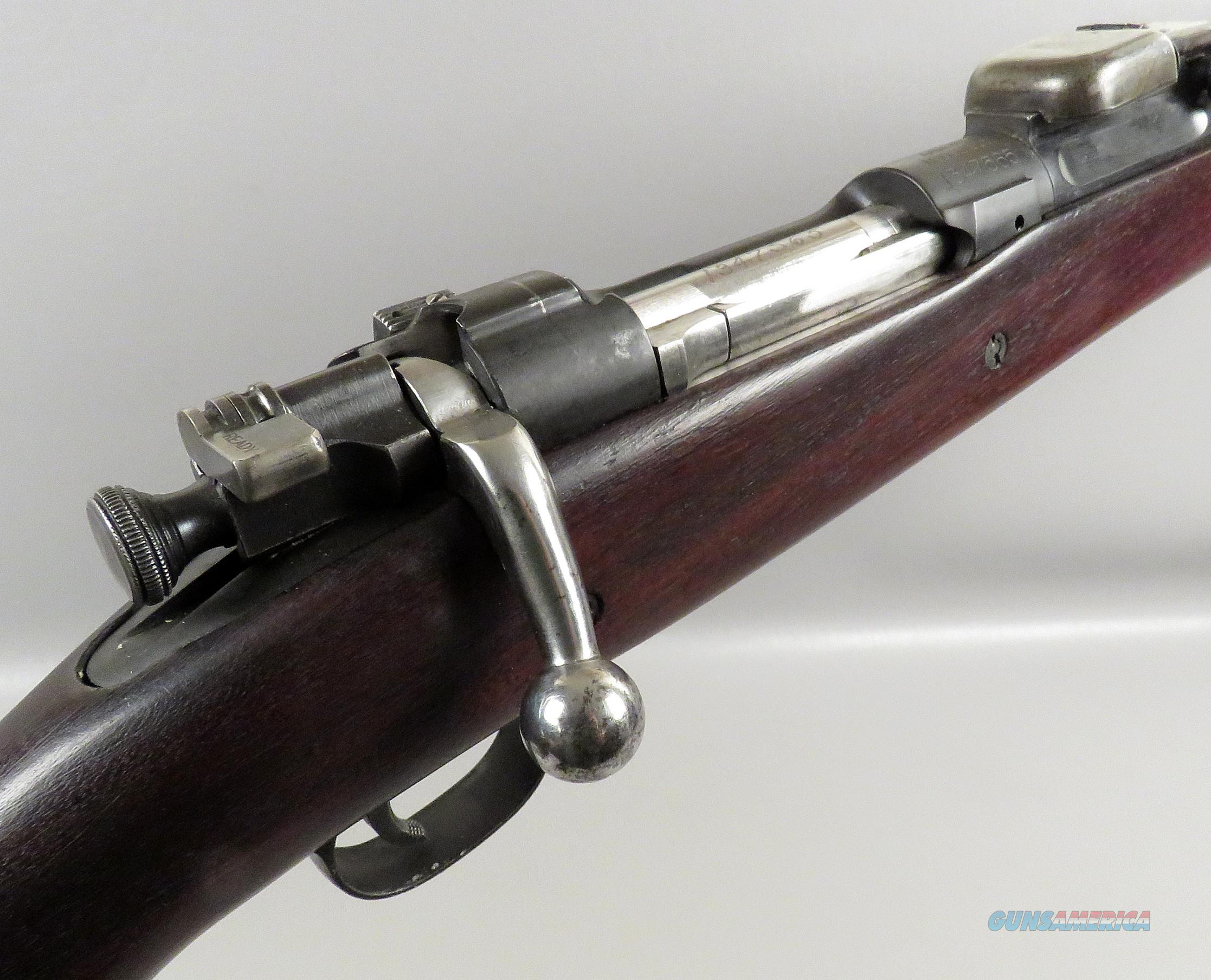 US Model 1903 A1 National Match Target Rifle used by E C Crossman  Guns > Rifles > Military Misc. Rifles US > 1903 Springfield/Variants