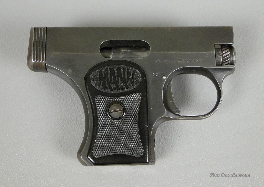 Eagle Auto Sales >> Vintage MANN 25 German Auto Pocket Pistol 6.35 ... for sale
