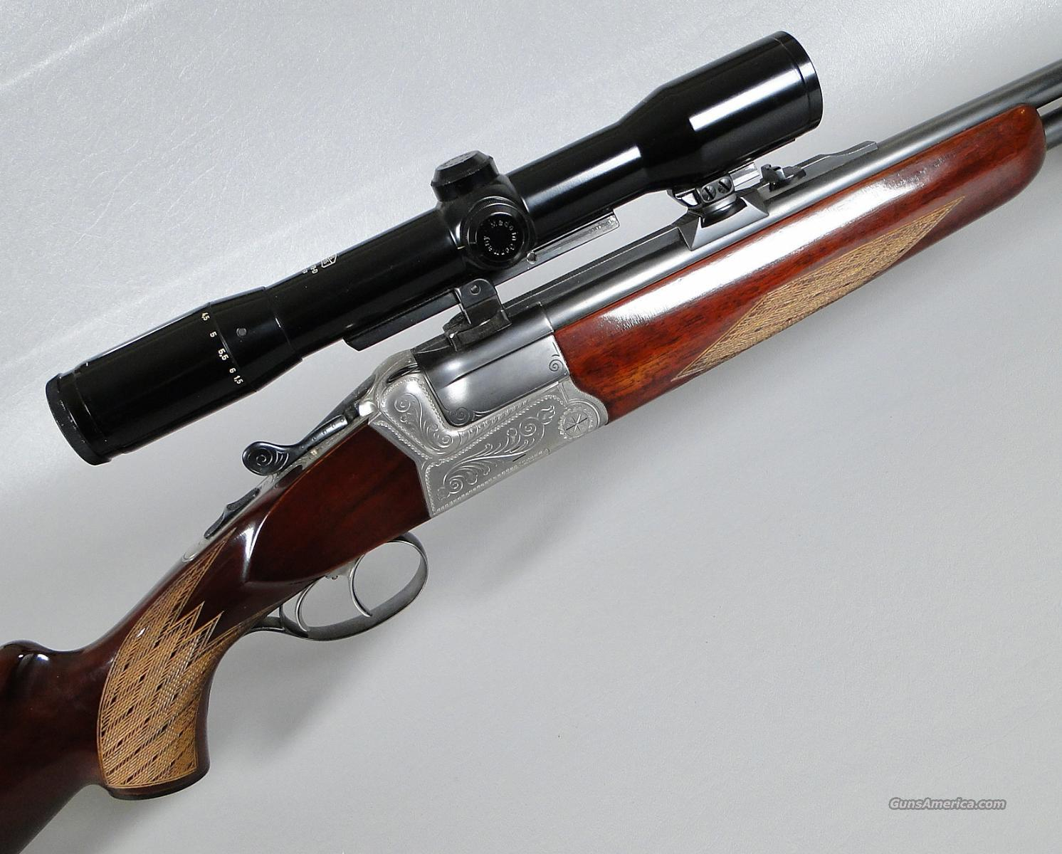 KRIEGHOFF Tech Double Rifle in 375 H&H with Zeiss Scope  Guns > Rifles > Krieghoff Rifles