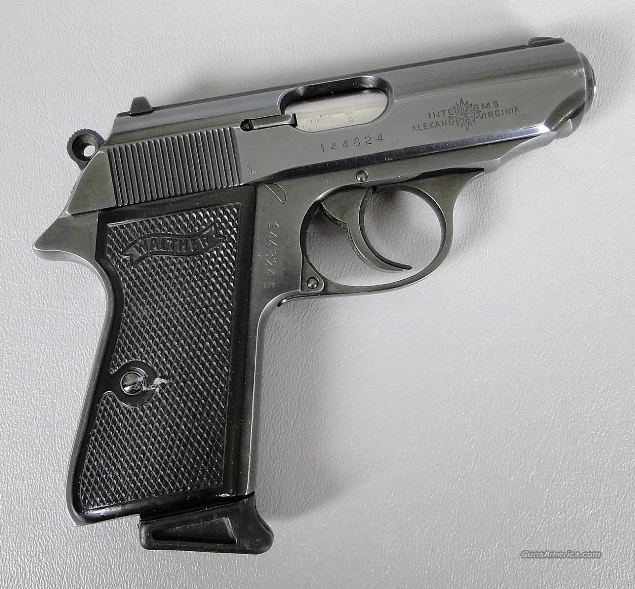 Walther PPK/S 380 Auto Pistol Made in West Germany  Guns > Pistols > Walther Pistols > Post WWII > PP Series