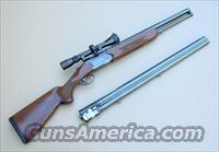 Valmet 412 S Rifle Shotgun Combo 2 Barrel Set With Scope  Guns > Shotguns > Valmet Shotguns