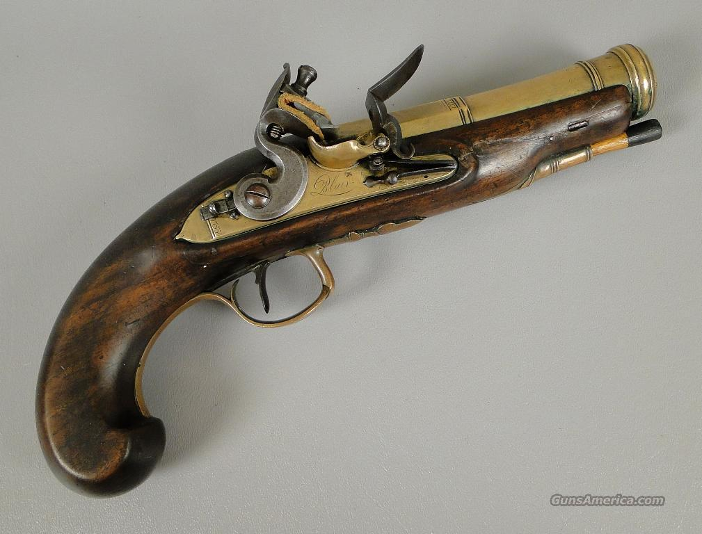 English Flintlock Blunderbuss pistol