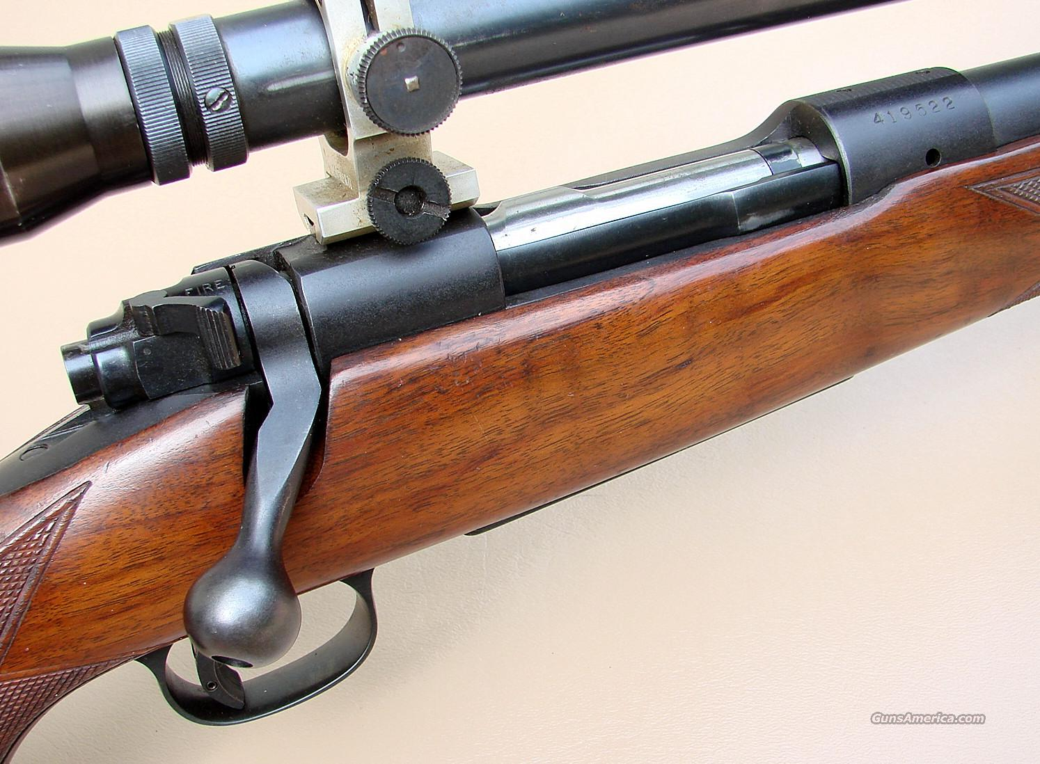 Pre 64 Winchester model 70 Varmint with 12 Powe... for sale