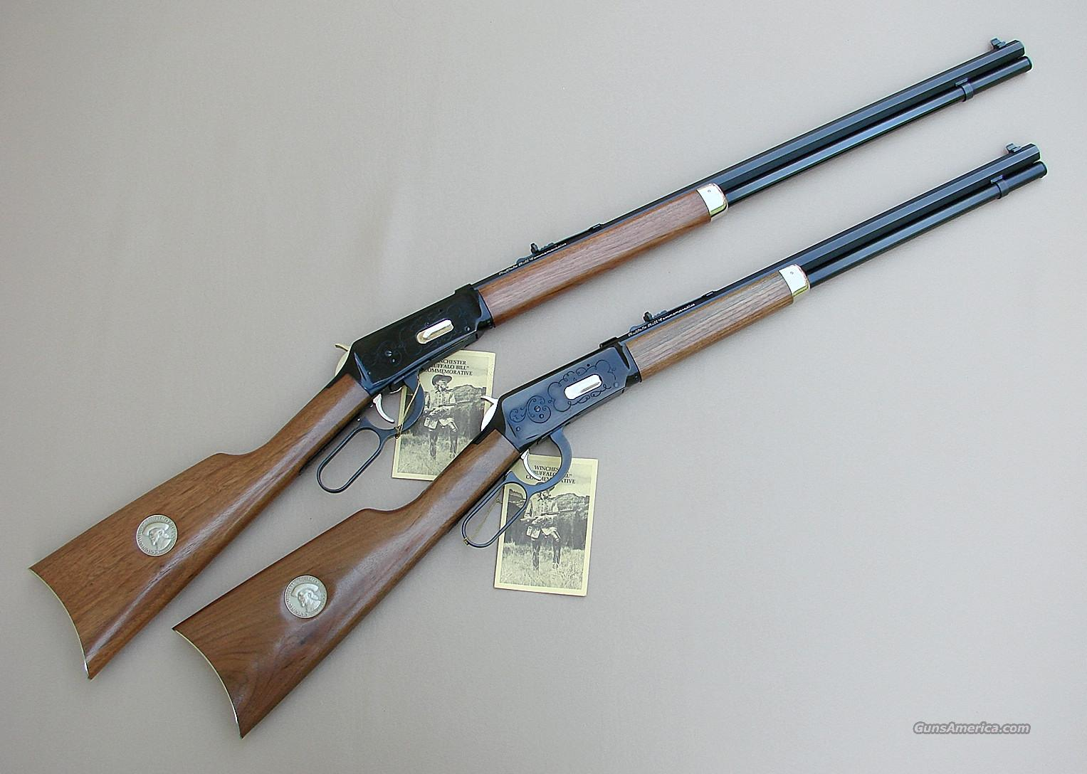 Winchester Buffalo Bill Commemorative Rifle & Carbine  Guns > Rifles > Winchester Rifle Commemoratives