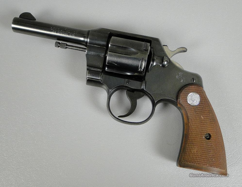 Like New COLT OFFICIAL POLICE 38 Special Revolv... for sale