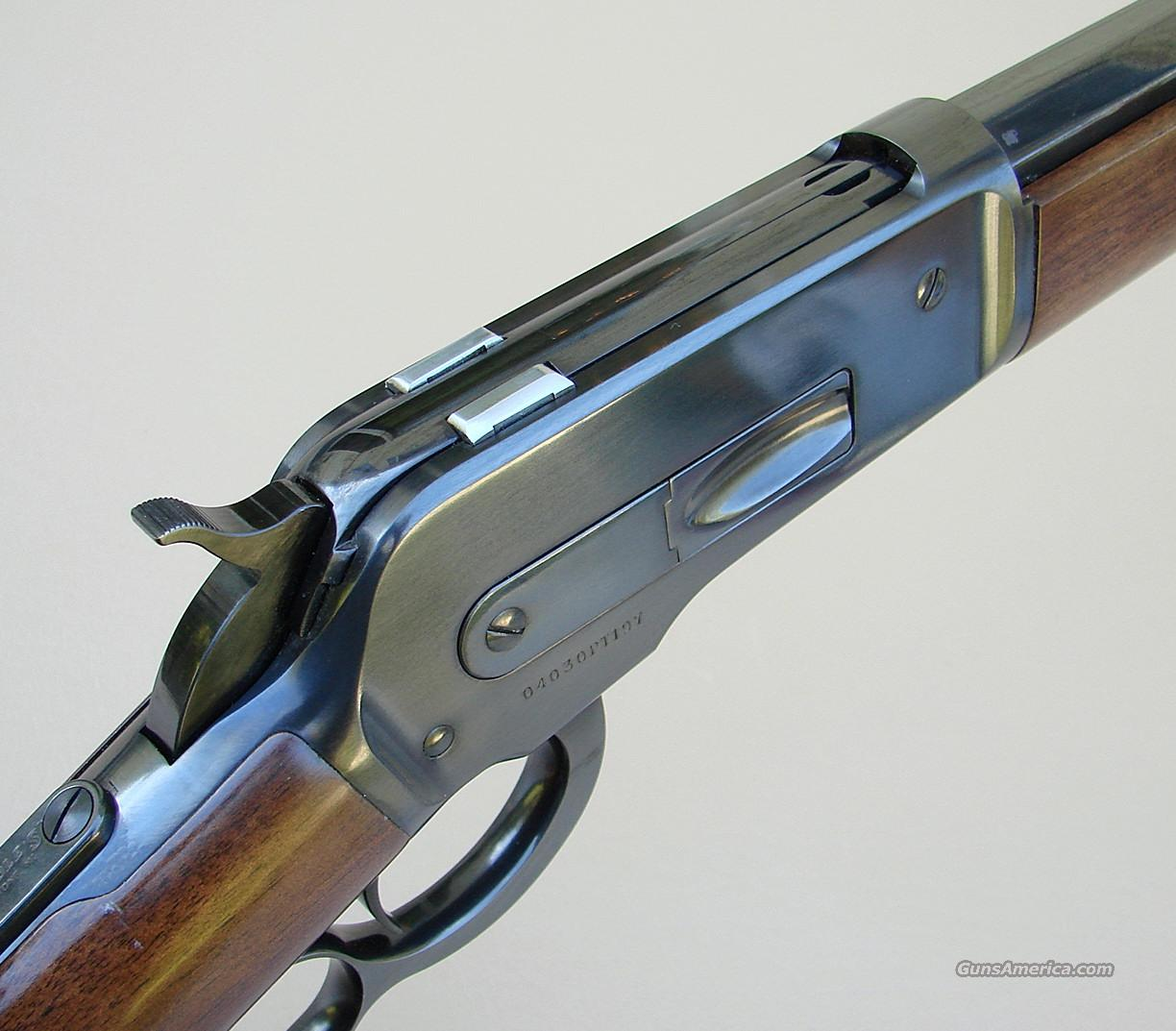 Browning 1886 Winchester 45-70 Rifle with Marbles Tang Sight  Guns > Rifles > Browning Rifles > Lever Action