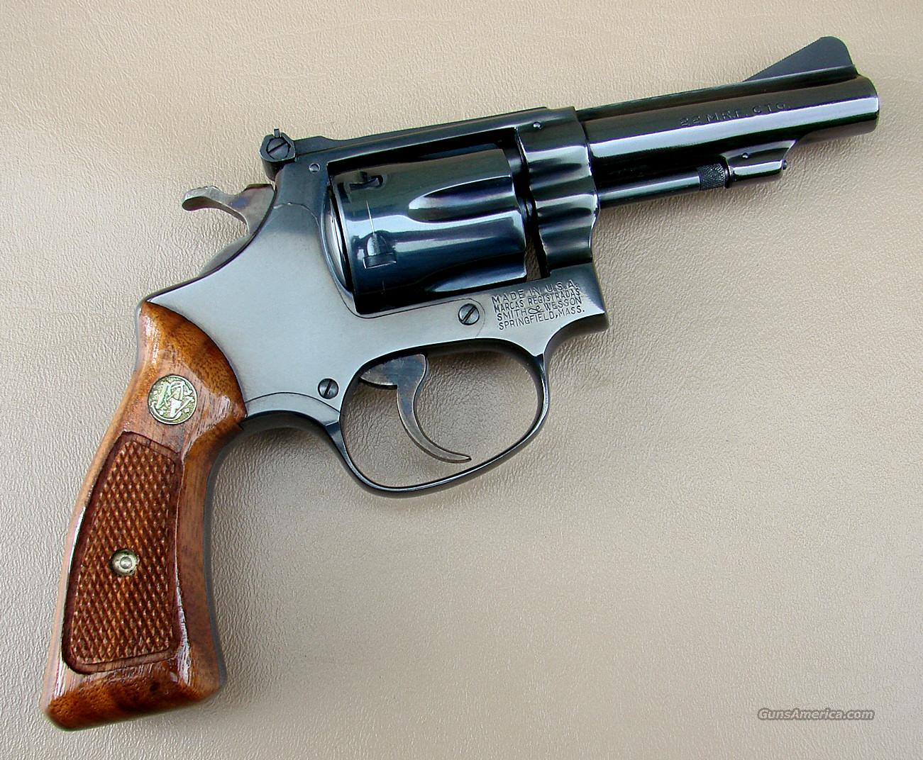 Smith and Wesson Model 51 Revolver in 22 Magnum... for sale