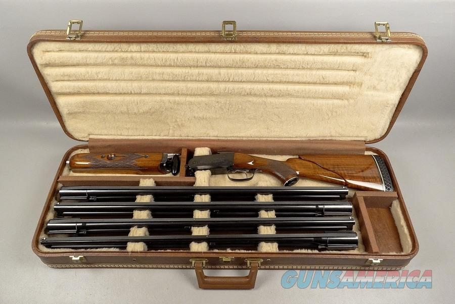 KREIGHOFF Model 32 Skeet 4 BARREL SET in Case  Guns > Shotguns > Krieghoff Shotguns